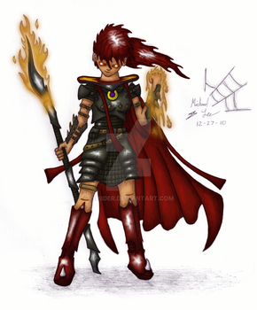 Skillcape 01 - Attack -Color- by iSpiider