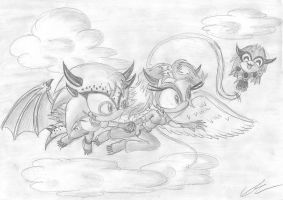 Fly high by EUAN-THE-ECHIDHOG