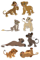 (CLOSED) 10 point Lion Cub Adopts by Oobiesadopts
