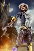Sheriff of Lynchwood Borderlands 2 by ivettepuig