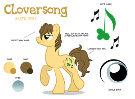 Cloversong Reference Sheet by ShilaDaLioness