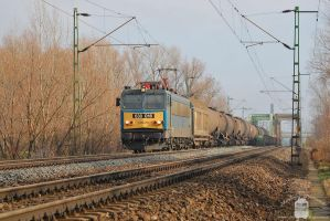 630 016 with freight near Gyor by morpheus880223