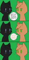 Just like your shadow warning: perverted cat D: by Blazewhisker