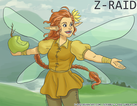 Commission: Fairy by Z-Raid