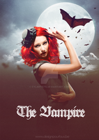 The vampire by cylartiste