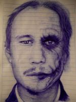 Heath Ledger by Dantee610