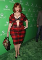 Christina Hendricks Busting out by cahabent