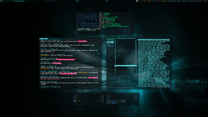 Arch Linux and AWESOME - July 2013 by transienceband