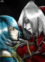 Vladimir and Sona- League of Legends by MelSpontaneus