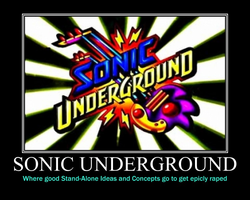 Sonic Underground Demotivational by Sephirath21000