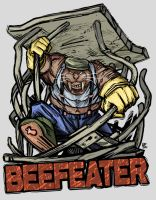Bustin' Out Badge - Beefeater by Rhandi-Mask