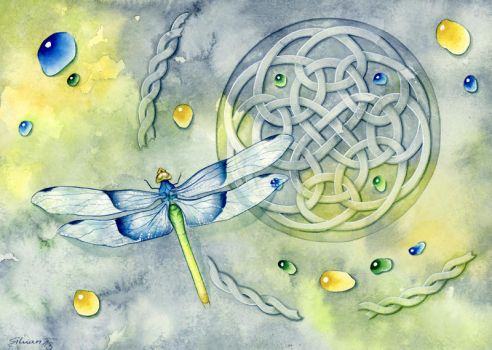 Dragonfly Patterns by LucieOn