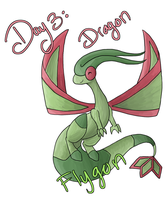 December Challenge - Dragon by yellowy-yellow