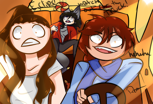 Never let Eclips Drive XD by ReulletHollow