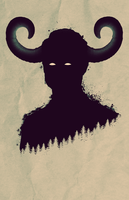 'Horns' Poster style Photoshop Tutorial by AtheistNation