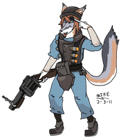 Demoman MikeFOX by mikeFOX2400