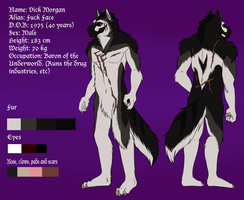 Vick Morgan Reference 2015 by xAcidicCanine