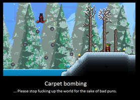 Quite Literally. Terraria Players by LittlewriterLink
