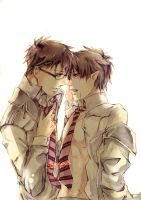 Ao no Exorcist- Hold on by sea-flow