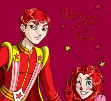 rb: Red Butler and Romeo by freetre