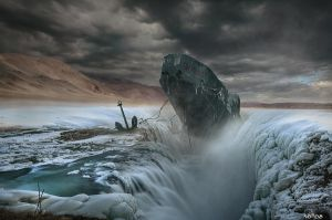 Icy Grave by noro8
