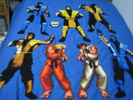 Perler Bead Mortal Kombat by Buck-Chow-Simmons
