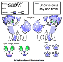 Snows reff by GliitchingTengu