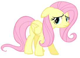 Sad Fluttershy by EnergyFrost