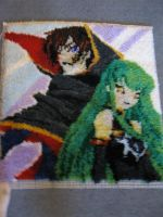 Code Geass Latch Hook by titanstargirl