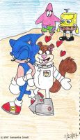 Sonic always gets the girl by SammySmall