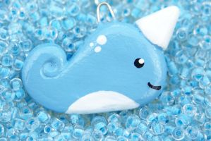Narwhal Pendant by Shelby-JoJewelry
