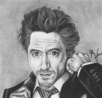Robert Downey Jr by lenaleigh