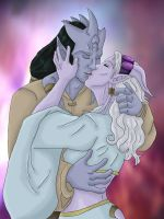 WoW- A Kiss To Bind Colored by atemuzuko