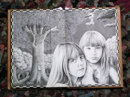 Drawing book pages 3 by maryanne42