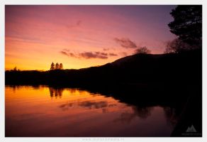 Sunset at Coniston, Lake District by IntoCircles
