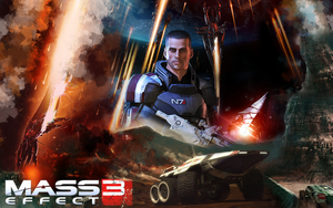 Mass Effect 3 by Aonir