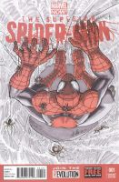 Superior Spider-Man #1 sketch cover 2 by shinlyle