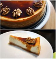 Caramel Cheesecake by pandrina