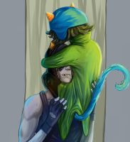 equius and nepeta by HaggyLagman