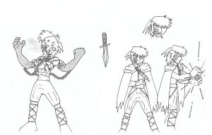 Take 2 Bleach Ryouga concept by CapnChryssalid