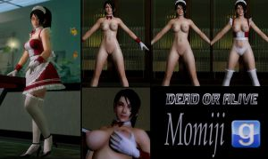 Momiji Model Release For GMod by Rastifan