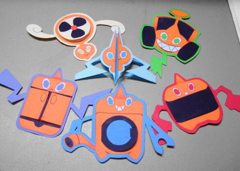 Rotom Tags by endless-whispers