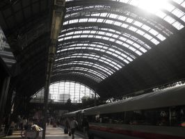 Skyline of the Station by JadineR