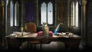 Pottermore Background: Owlry by xxtayce
