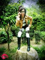 Humanity's Brightest!  || Hanji Zoe cosplay SNK by LadyOfBarians