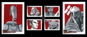 Clone Wars: ROTBH Retail Set 3 by MJasonReed