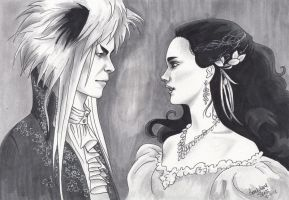 Jareth and Sarah by GenevieveKay