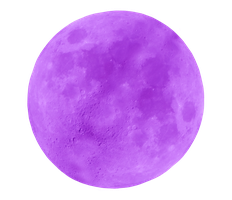 Bright Purple Moon by WDWParksGal-Stock