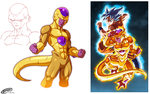 Golden Freeza (Colors Study) by Tomycase