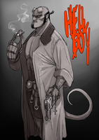 HellBoy by LittleKidsin
